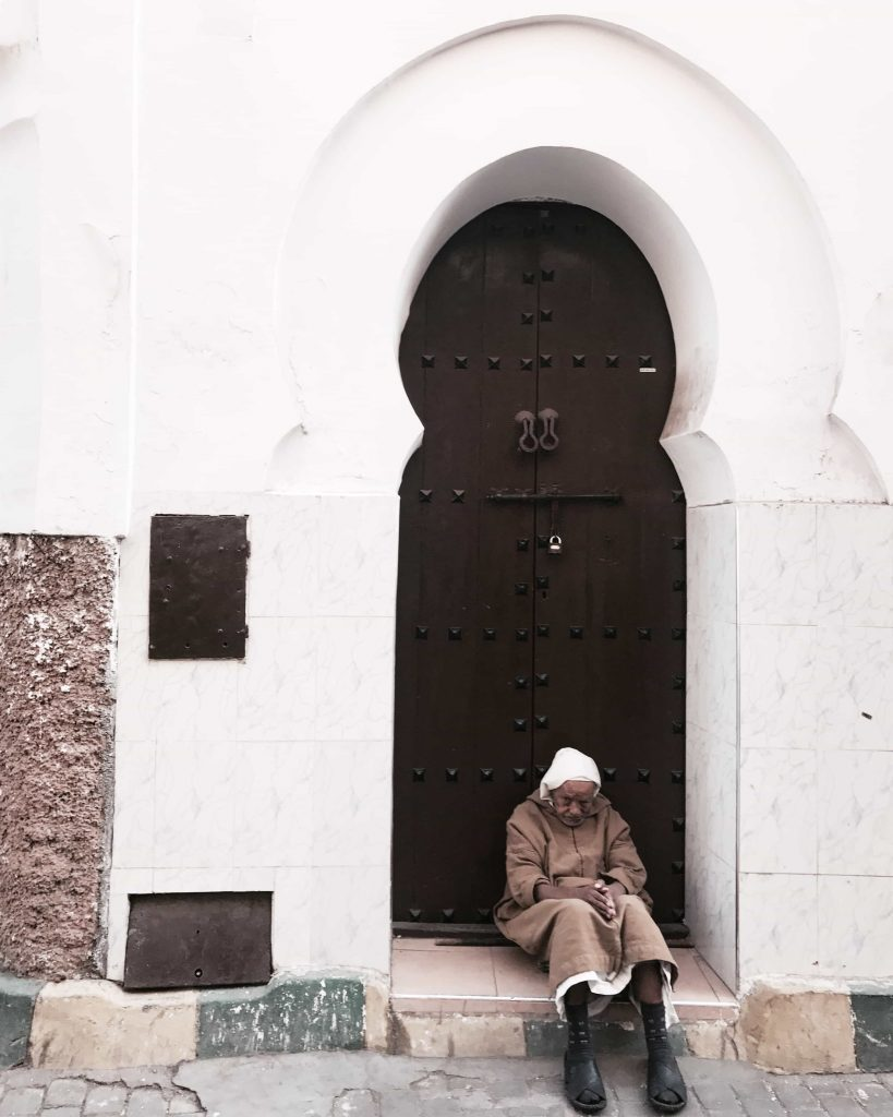 Old man in Marrakech